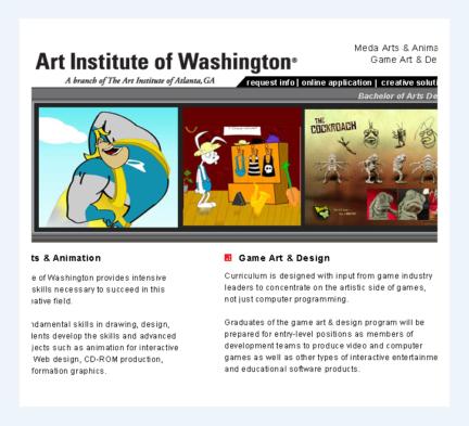The Art Institute of Washington